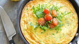 Potato Cheddar Frittata: Breakfast  Brunch Recipe