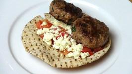 Lamb And Feta Pitas