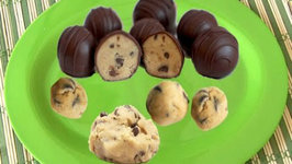 Quick Edible Cookie Dough - Flourless Eggless - Chocolate Chip Cookie Dough