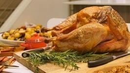 Simple Herb Butter Roast Turkey