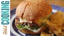 How To Make A Cheeseburger - Perfect Juicy Cheeseburger