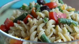Greek Pasta Salad And Tour Of My New House!