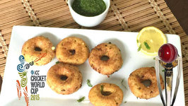 Aloo Paneer Rings - Potato and Cheese Rings - ICC Cricket World Cup Snack
