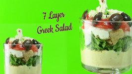 Quick & Healthy Seven Layer Greek Salad