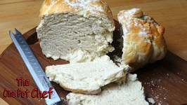 Country Style Loaf Of White Bread