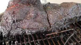 Raspberry Beer Brisket - English Grill and BBQ Recipe