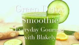 Breakfast Recipe- Green Detox Smoothie