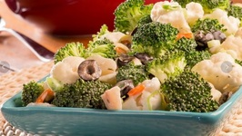 How To Make Crunchy Broccoli Cauliflower Salad