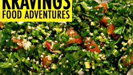 Easy to make Tabouleh - Parsley and Mint Salad