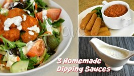 Homemade Buttermilk Ranch Dressing / Bleu Cheese Dressing / Quick Marinara Sauce / Farm Rich Products