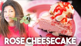 Rose Cheesecake - Valentines Special