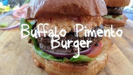 How To Make Buffalo Pimento Burger