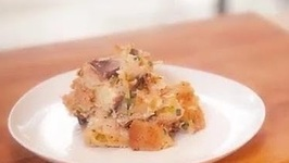 Caramelized Onion Bread Pudding