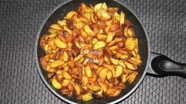 Bataki Shaak - Baby Potato Fry
