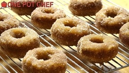 Oven Baked Cinnamon Donuts