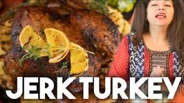 Jerk Turkey - Thanksgiving Special - Kravings