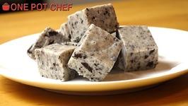 3 Ingredient Cookies And Cream Fudge