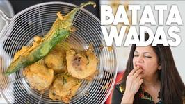 BATATAWADAS or Aloo Bondas - Gluten free Crispy Potato Ball