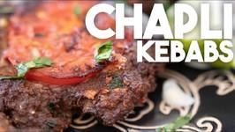 Chapli Kebabs - Fried Meat Kebabs