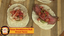 Street Taco Recipe - Texas Steakhouse Rub