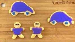 Dye Free Iced Sugar Cookies