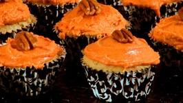 Pumpkin Cupcakes - Thanksgiving Recipe