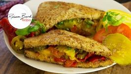 Grilled Summer Veggie Sandwich