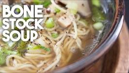 Bone Stock Soup / Homemade stock