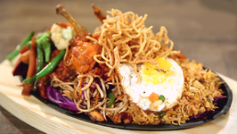 Chinese Sizzler - Chicken Sizzler - How To Make Chinese Sizzler At Home - Varun Inamdar