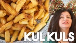 Kul Kuls - Crispy Fried Holiday Cookie