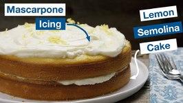 Lemon Semolina Cake
