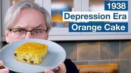 1938 Orange Cake Depression Era Recipe