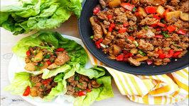Dinner Recipe- Asian Style Turkey Lettuce Wraps