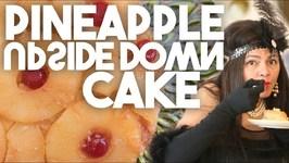 Pineapple Upside Down Cake - Vintage Recipe