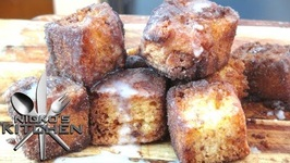 Churro Cake Bites