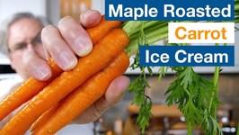 Maple Roasted Carrot Ice Cream