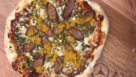 Curry-Pizza Sansibar Style
