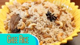 Ghee Rice Recipe / How To Make Ghee Rice At Home / Divine Taste With Anushruti
