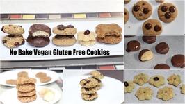 5 No-Bake Vegan Gluten Free Cookies