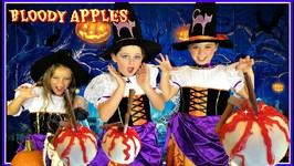 Halloween Treats - Diy  Bloody Apples