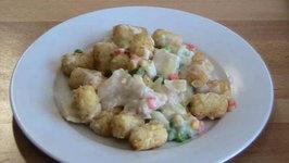 Creamy Fish And Potato Bake