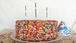 Dessert Recipe - Homemade Funfetti Cake