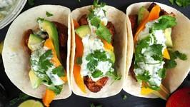 Dinner Recipe - Quick Spiced Chicken Tacos