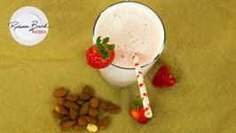 How To Make Strawberry Almond Milk - Best Recipe