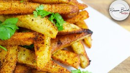 Crispy Oven Baked French Fries - Extra Crunchy