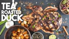 How To Make Tea Roasted Duck / Asian Style Crispy Skin