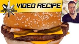 McDonalds Quarter Pounder Burger