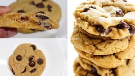 The Best Almond Flax Chocolate Chip Cookies