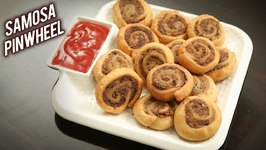 Pinwheel Samosa - How To Make Potato Samosa Pinwheel - Veg Snack Recipe By Ruchi
