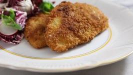 Breaded and Fried Chicken Cutlets